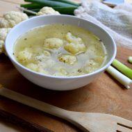 Dietní květáková polévka recept