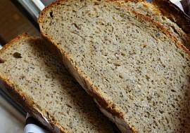 Tečkovaný kváskový chleba recept