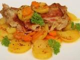 Telecí pečené s mrkví a zázvorem recept
