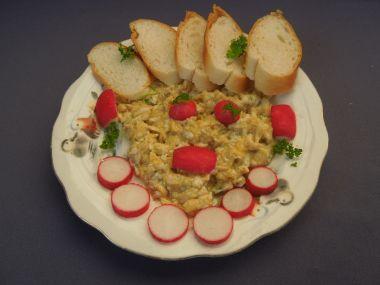 Míchaná vejce s Nivou