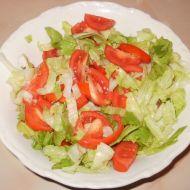 Hlávkový salát s rajčaty recept