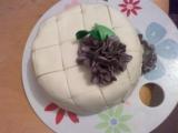 Prošívaný dort z vaječného koňaku recept