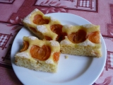 Kefírová bublanina s meruňkami recept