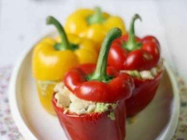Plněné papriky jako předkrm