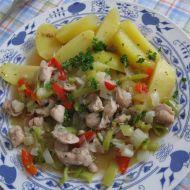 Kuřecí kousky v zeleninové šťávě recept