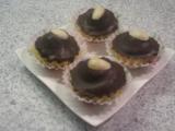 Ořechové košíčky s čokoládou recept