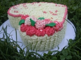 Svatební dortík k výročí recept