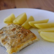 Zapečené rybí filé v těstíčku recept