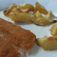 Pečené rybí prsty se smetanou recept