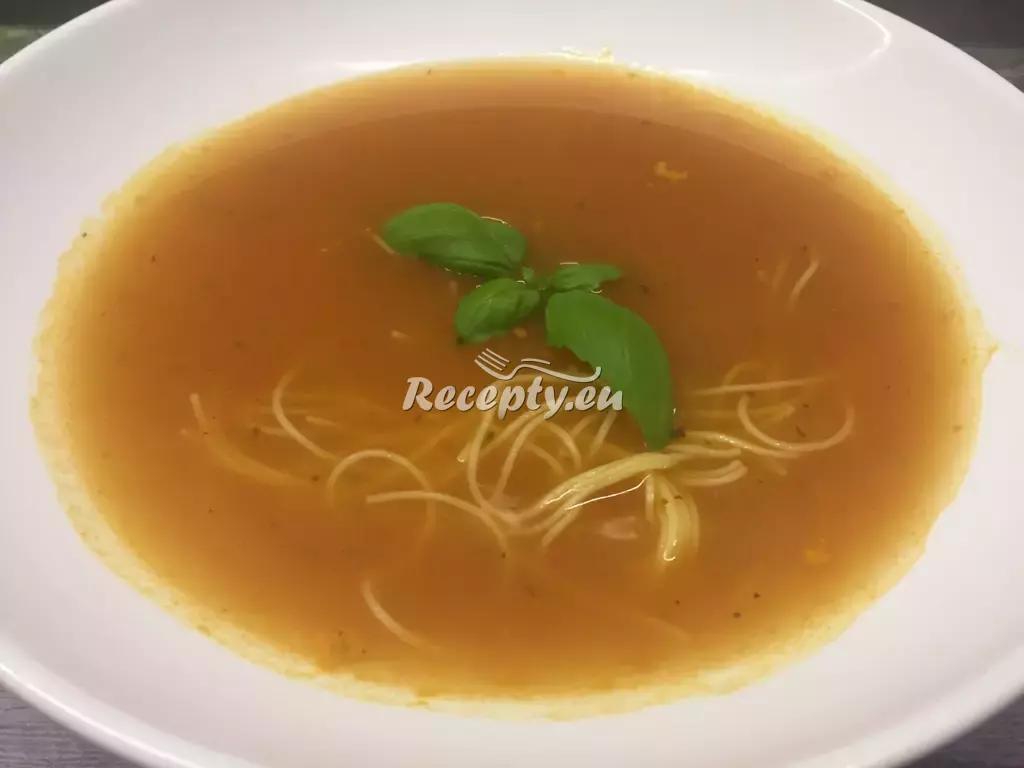Zeleninový krém s mlékem a kari recept  polévky