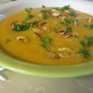 Polévka hokaido s kořenovou zeleninou recept