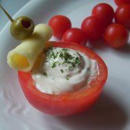 Rajčátka plněná pomazánkou recept