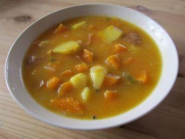 Recept Pikantní guláš s dýní