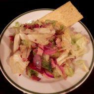 Vynikající ledový salát se šunkou a šalotkou recept