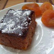 Kakaový koláč s meruňkami recept