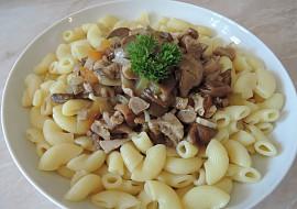 Švýcarské houbové ragú recept