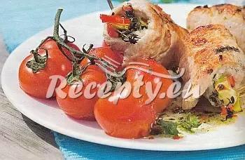 Grilované krůtí závitky recept  grilování
