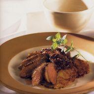Kachní prsa s bramboráky recept