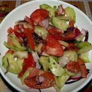 Balkánský salát recept
