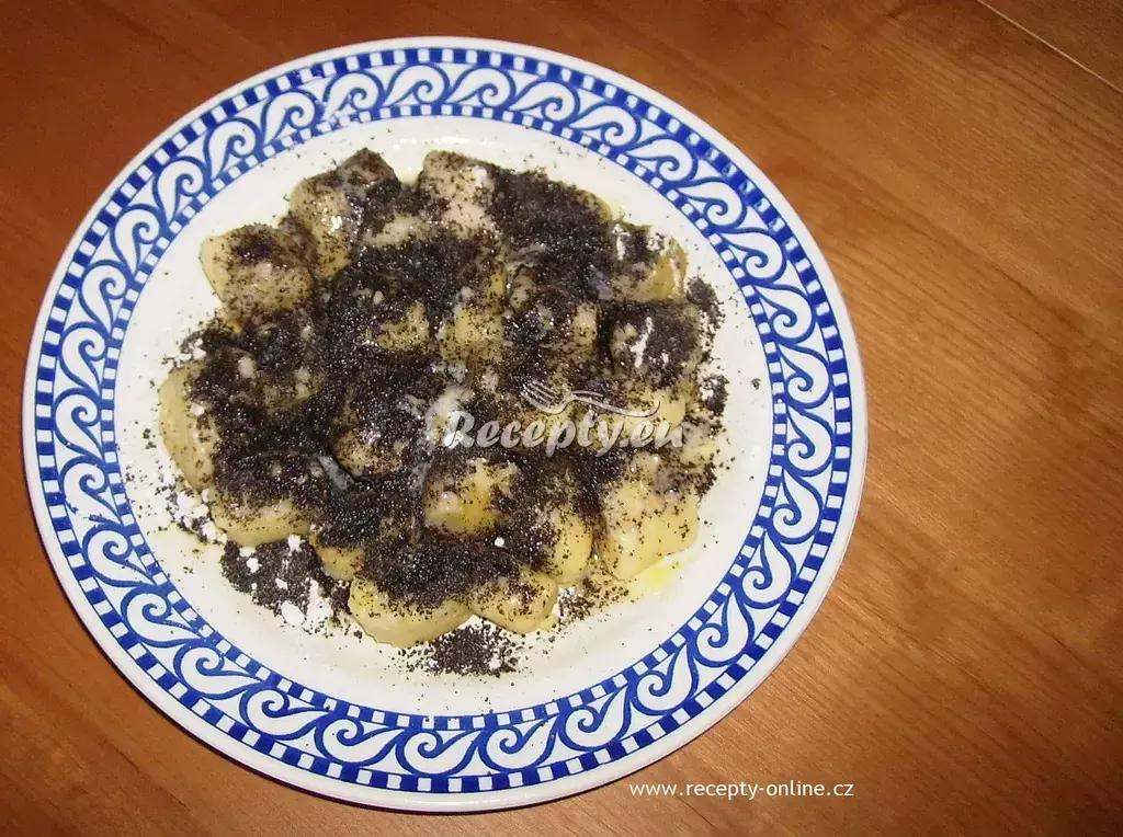 Bramborové šišky s mákem recept  bramborové pokrmy