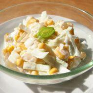 Pórkový salát s ananasem recept