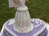 Nevěsta Barbie  dort k 6. narozeninám recept