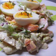 Listový salát s vejcem recept