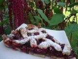 Ostružinový křehký koláč s čokoládou recept