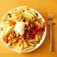 Dřevorubecké podzimní špagety s vepřovým a zeleninou recept ...