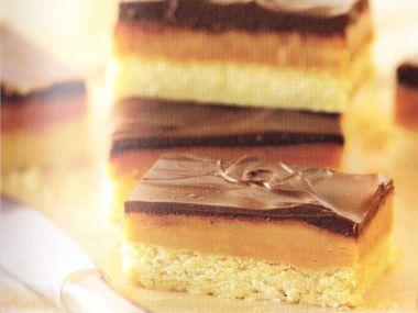 Čokoládovokaramelové potěšení