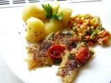 Zdravé filé se zeleninou recept