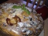 Křehký jablko-švestkový koláč recept
