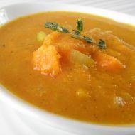 Mrkvovo-dýňová polévka se zázvorem recept