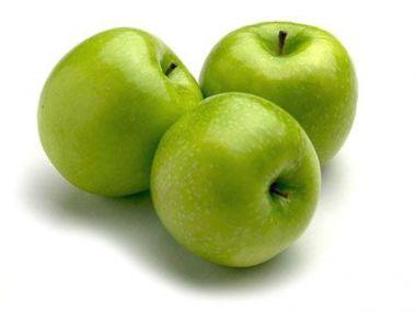 Jablka v županu