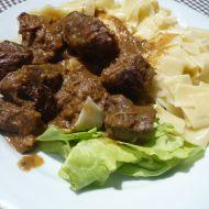 Dušené hovězí maso na víně recept
