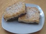 Strouhaný dvoubarevný koláč recept