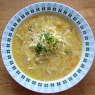 Sýrová česnečka recept