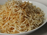 Křupavé rýžové nudličky recept