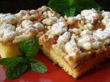 Jablkový koláč z tvarohového těsta s drobenkou recept ...