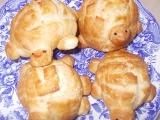 Houstičky želvičky  Bułeczki żółwiki recept