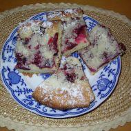 Kynutý švestkový koláč recept