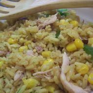 Rizoto z pečeného kuřete recept