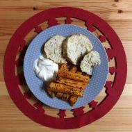 Kuřecí sekaná s bulgurem a koprem recept
