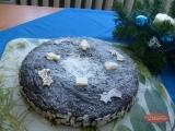 Ořechový dortík s čoko polevou recept