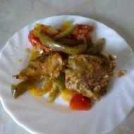 Kapr pečený na zelenině recept