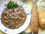Staročeský houbový guláš recept
