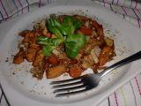 Kuřecí nudličky s mrkví a čínským zelím recept