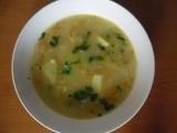 Polévka z vloček, čínského zelí a brambor recept