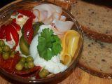 Obložená vejce recept