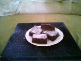 Kakaová buchta s kompotem recept
